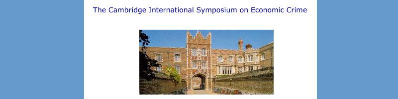 35th Cambridge International Symposium on Economic Crime – London.