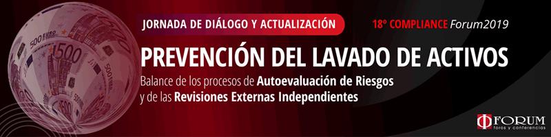 XVIII COMPLIANCE- PREVENCIÓN DEL LAVADO DE ACTIVOS